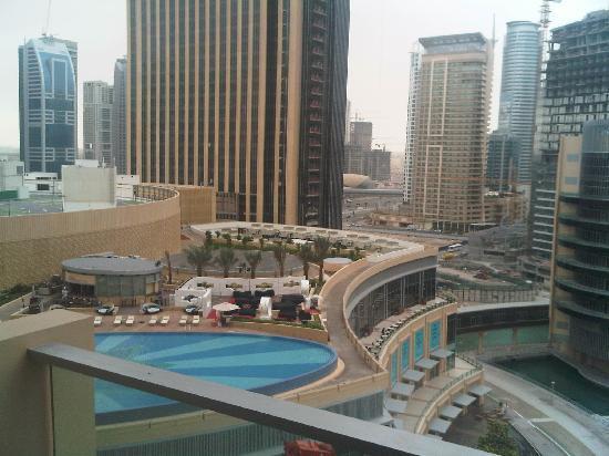 Address Dubai Marina: View from Grand Room Balcony in the Morning
