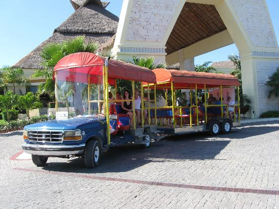 Grand Bahia Principe Coba: Resort Transportation