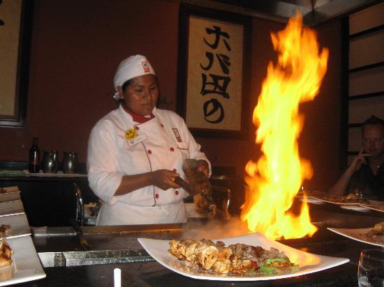 Grand Bahia Principe Coba: Our Chef at Mikado