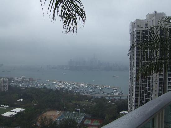 Metropark Hotel Causeway Bay Hong Kong: View from roof top