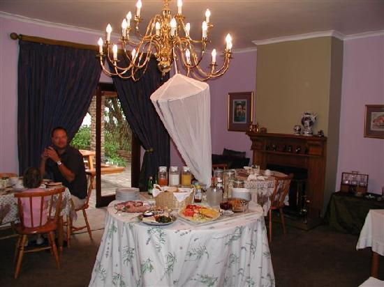 Milkwood Lodge: Breakfast Room