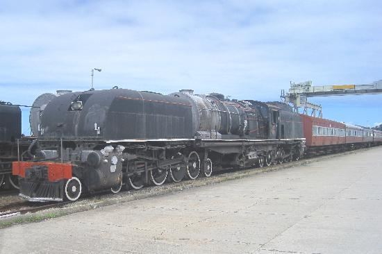 George, South Africa: Beyer-Peacock locomotive