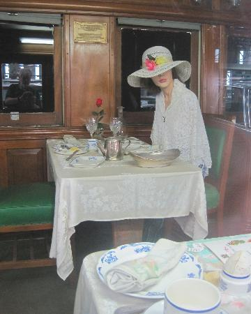 Outeniqua Transport Museum: Dining Car interior