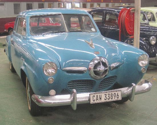 Outeniqua Transport Museum: Studebaker car - from 1950s