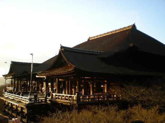 Kiyomizu-tempelet: 眺めを楽しめますよー