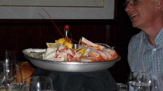 Morton's, The Steakhouse: Cooked seafood appetizers