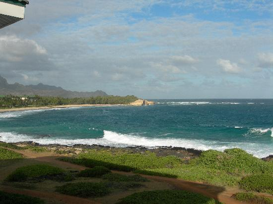 The Point at Poipu: View of Shipwreck's form lanai