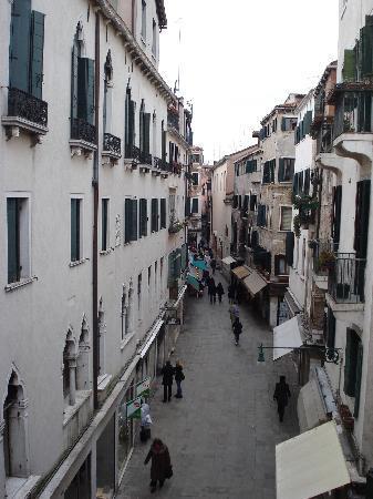 Hotel da Bruno: vista dal balconcino
