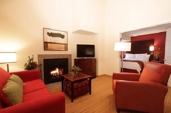 Sonesta ES Suites Omaha: Penthouse Living Room