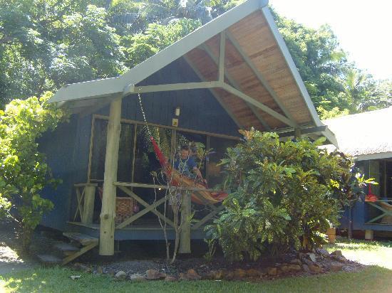 Palm Bungalows: the bungalow
