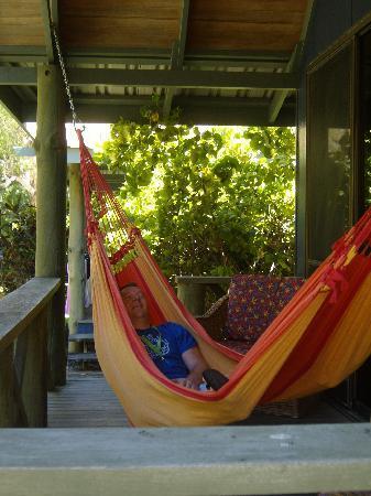 Palm Bungalows: the hammock