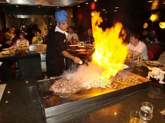 Ocean Coral & Turquesa: Show cooking