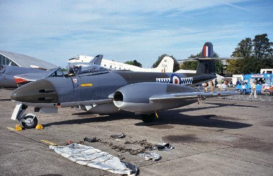 IWM Duxford: Parking avion du meeting