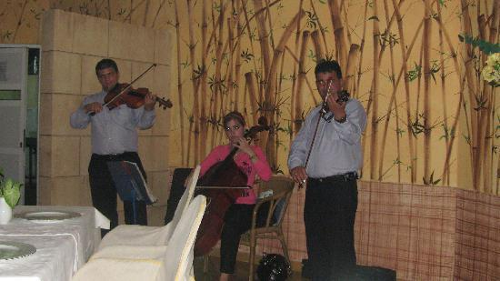 Melia Las Antillas: The entertainment at El Romantico