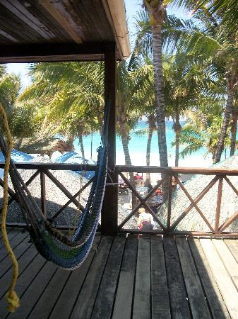 Bananarama Dive & Beach Resort: view from the balcony