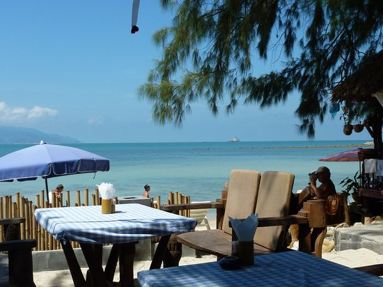 Imperial Boat House Beach Resort, Koh Samui: View from Bar