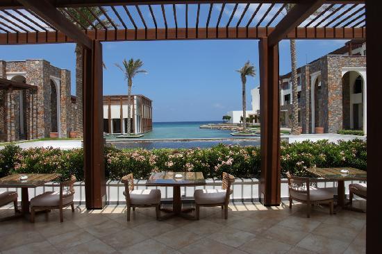 Amirandes, Grecotel Exclusive Resort: Lobby sea view