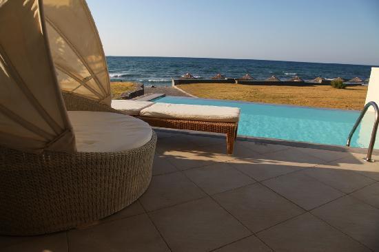 Amirandes, Grecotel Exclusive Resort: Suite terrace w\pool