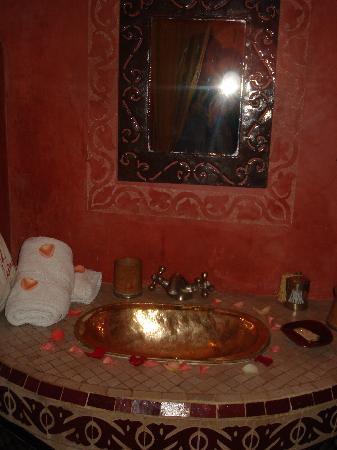 Riad Jona: il bagno