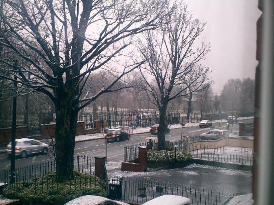 Maranatha House: Snowing in Belfast