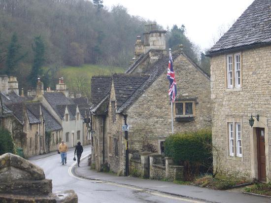 The Castle Inn: the village