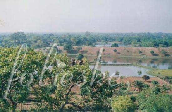 Ruins of Gaur: view from the Firoz Minar