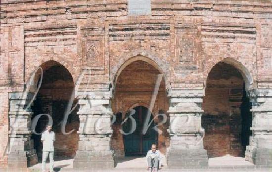 Ruins of Gaur: Qadam Rasul Masjid