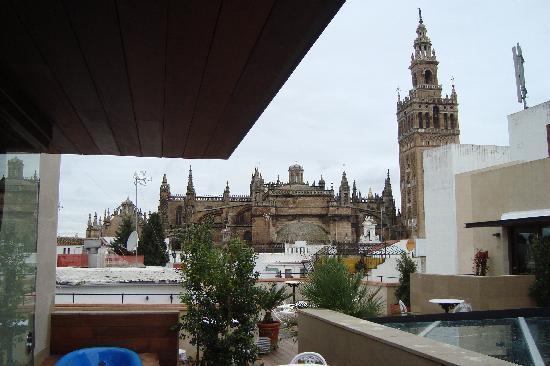 Hotel Casa 1800 Sevilla: The same day