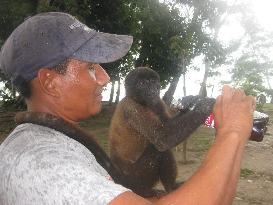 Cumaceba Amazon Lodge: i love coca cola too .. :)))