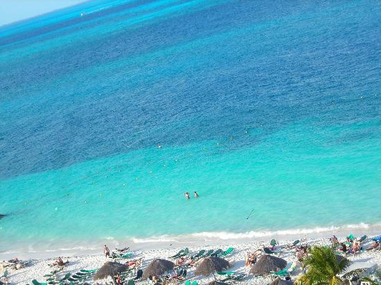 Hotel Riu Caribe: view from room