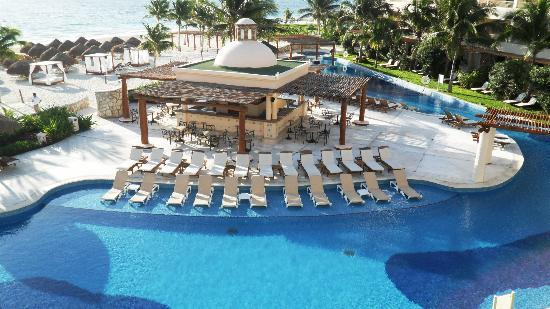 Excellence Riviera Cancun: View from our room