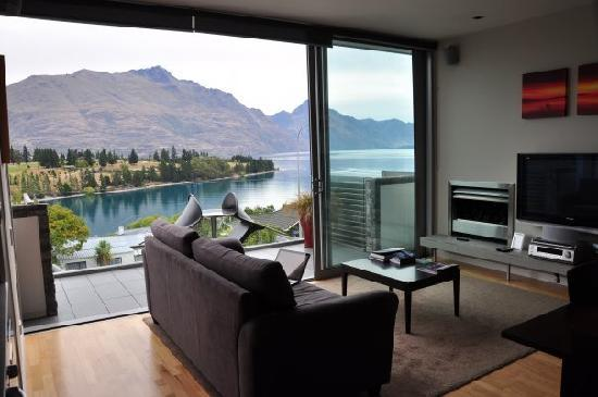 Swiss-Belsuites Pounamu Queenstown: View from our room