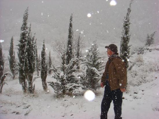 Erbil, Irak: Snow season