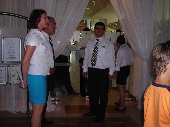 Concorde De Luxe Resort: resto principal diner