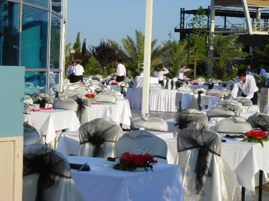 Concorde De Luxe Resort: resto