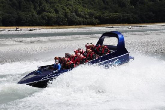 Dart River - Wilderness Jet: Time to get wet