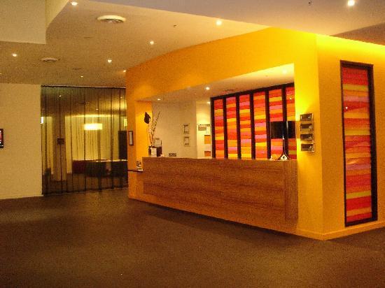 Jasper Hotel: Reception