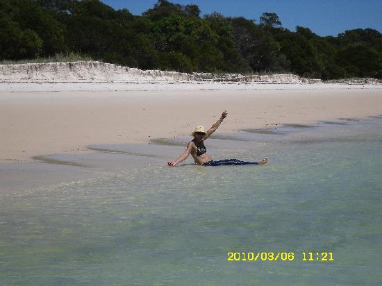 Reef View Hotel: white haven beach