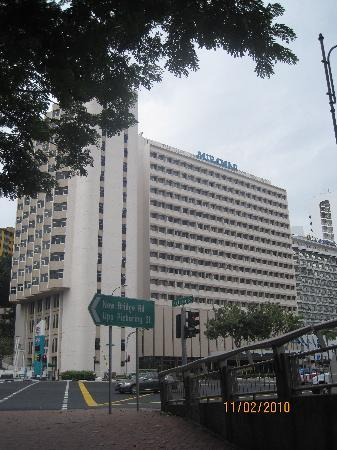 Hotel Miramar: front of hotel