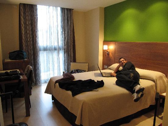 Sercotel Hotel Gran Bilbao: habitacion encantadora