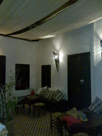 Dinning area at Riad Miliana