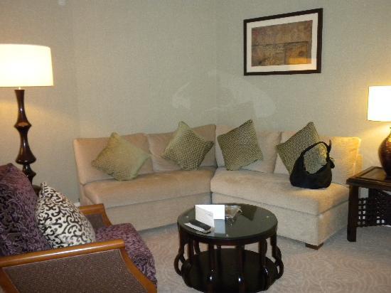 Movenpick Resort Petra: sitting room of suite