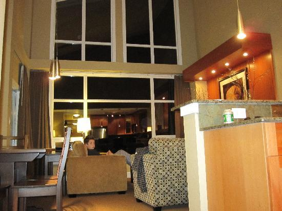 Beach Club Resort - Bellstar Hotels & Resorts: Room at night *NO PIC OF FIREPLACE