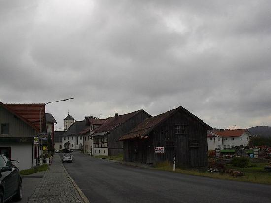 Mauth, Deutschland: village view