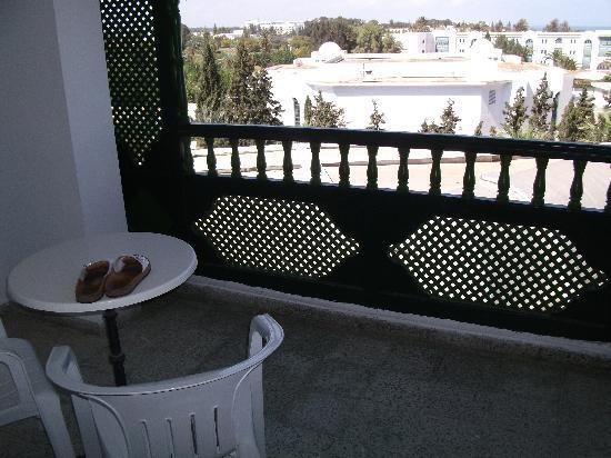 Marhaba Palace Hotel: Balcony