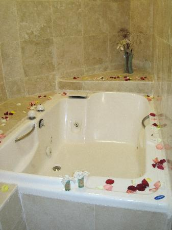 Hacienda Paradise Boutique Hotel by Xperience Hotels: Now that's a tub.