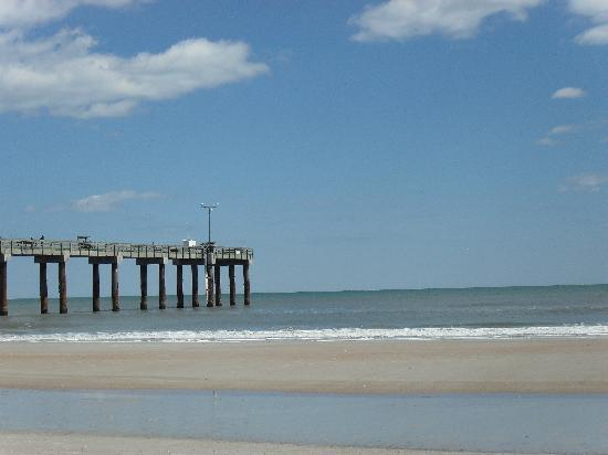St Augustine Island Inn: The pier