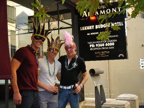 Altamont Hotel Sydney - by 8Hotels: On the way to Mardi gras parade in front of Altamont