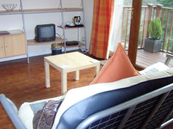 Tarbet House B & B: the living area