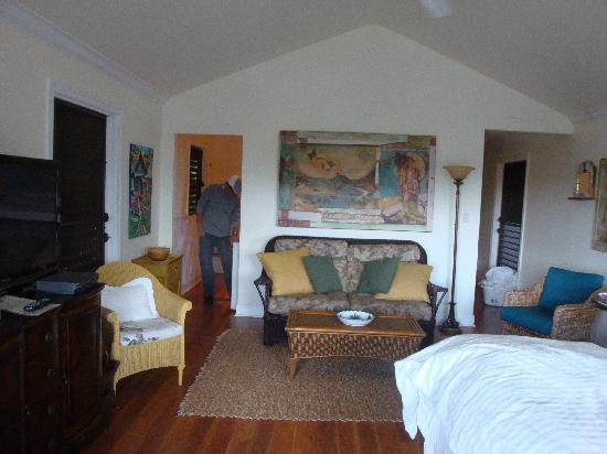 Coastline Cottages Kauai: cozy!
